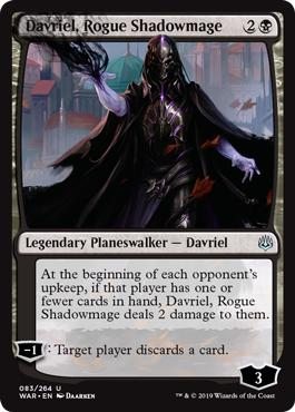 Davriel, Rogue Shadowmage - War of the Spark