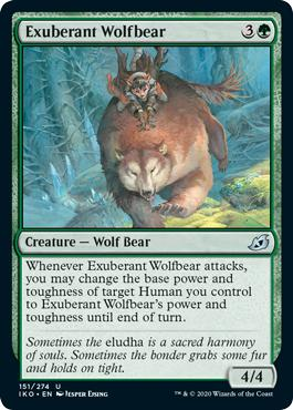 Exuberant Wolfbear - Ikoria: Lair of Behemoths