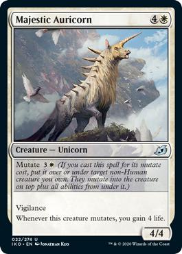 Majestic Auricorn - Ikoria: Lair of Behemoths
