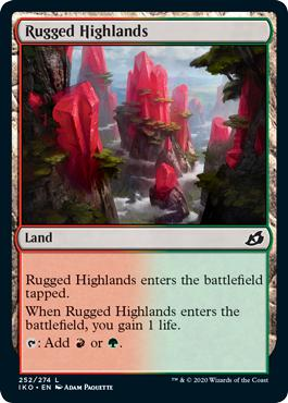 Rugged Highlands - Ikoria: Lair of Behemoths