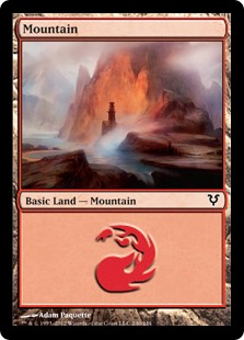 Mountain - Avacyn Restored
