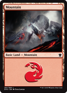 Mountain - Dragons of Tarkir