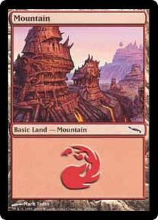 Mountain - Mirrodin