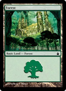 Forest - Ravnica: City of Guilds