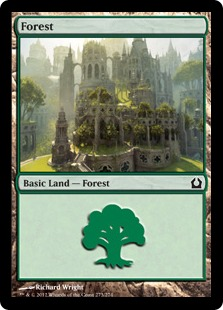 Forest - Return to Ravnica