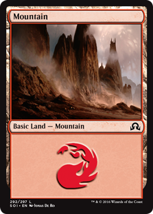 Mountain - Shadows over Innistrad
