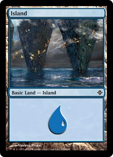 Island - Rise of the Eldrazi