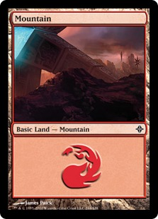 Mountain - Rise of the Eldrazi