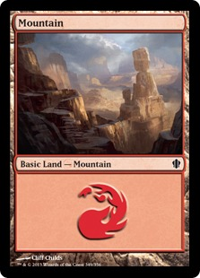 Mountain - Commander 2013 Edition