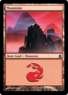 Mountain - Magic: The Gathering-Commander