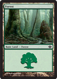 Forest - Duel Decks: Garruk vs. Liliana