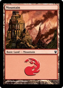 Mountain - Duel Decks: Izzet vs. Golgari