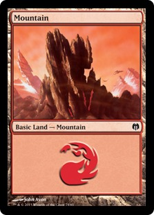 Mountain - Duel Decks: Heroes vs. Monsters