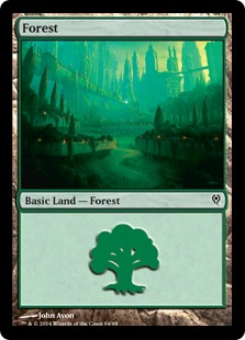 Forest - Duel Decks: Jace vs. Vraska
