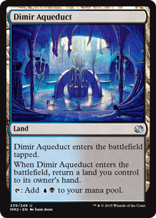 Dimir Aqueduct - Modern Masters 2015 Edition
