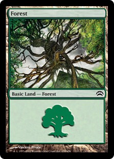 Forest - Planechase 2012 Edition