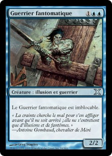 Guerrier fantomatique - 10ième Edition