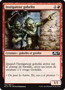 Instigateur gobelin - Magic 2019
