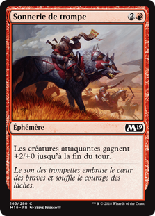 Sonnerie de trompe - Magic 2019
