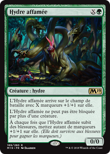 Hydre affamée - Magic 2019