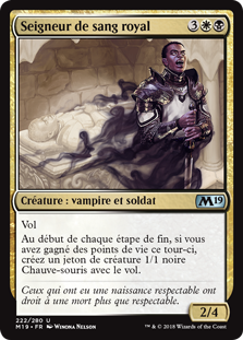 Seigneur de sang royal - Magic 2019