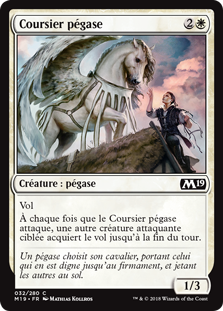 Coursier pégase - Magic 2019
