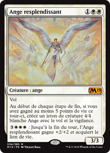 Ange resplendissant - Magic 2019