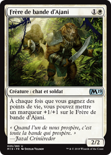 Frère de bande d'Ajani - Magic 2019