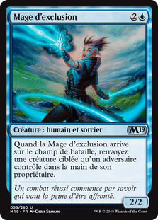 Mage d'exclusion - Magic 2019