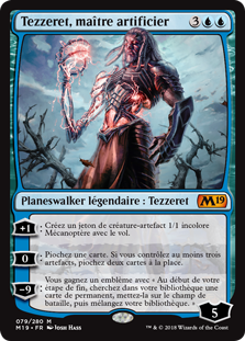 Tezzeret, maître artificier - Magic 2019