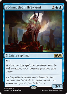 Sphinx déchiffre-vent - Magic 2019