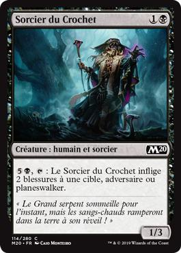 Sorcier du Crochet - Core Set 2020