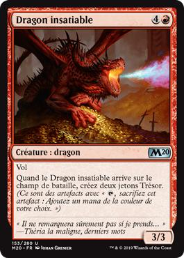 Dragon insatiable - Core Set 2020