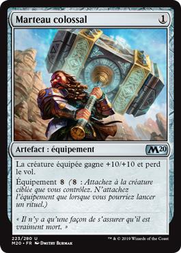 Marteau colossal - Core Set 2020