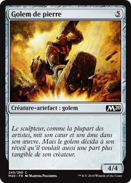 Golem de pierre - Core Set 2020