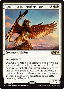 Griffon à la crinière d'or - Core Set 2020