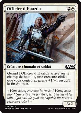 Officier d'Haazda - Core Set 2020
