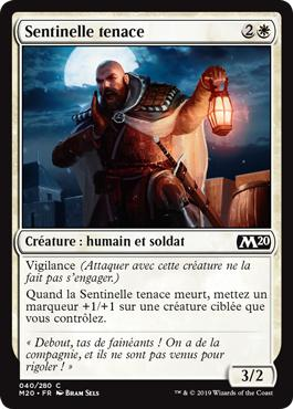 Sentinelle tenace - Core Set 2020