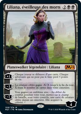 Liliana, éveilleuse des morts - Core Set 2021
