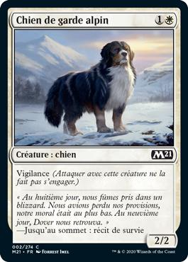 Chien de garde alpin - Core Set 2021