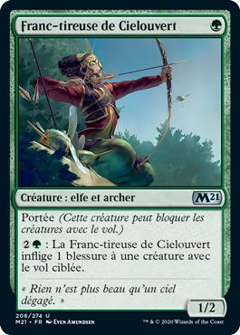 Franc-tireuse de Cielouvert - Core Set 2021