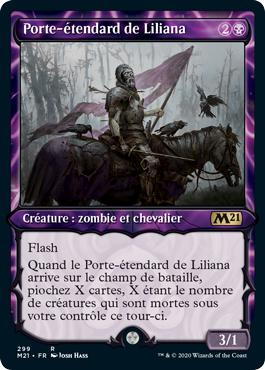 Porte-étendard de Liliana - Core Set 2021