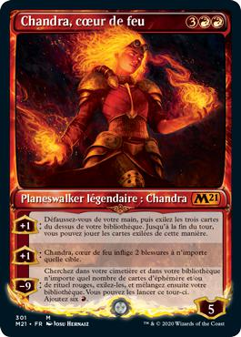 Chandra, cœur de feu - Core Set 2021