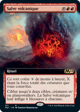 Salve volcanique - Core Set 2021