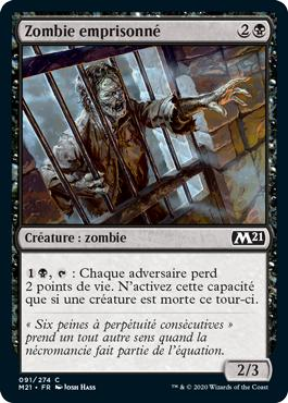 Zombie emprisonné - Core Set 2021